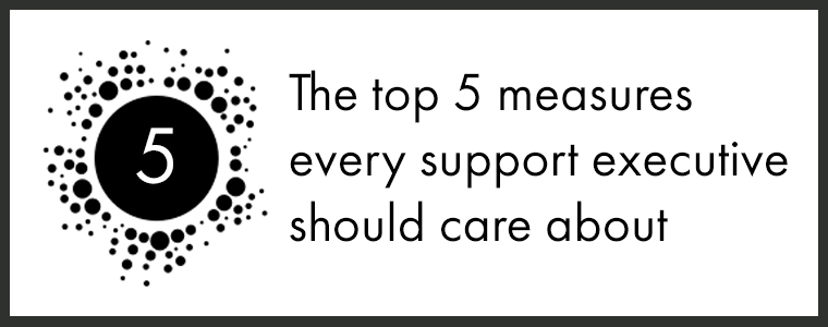 The top 5 measures every support executive should care about-blog